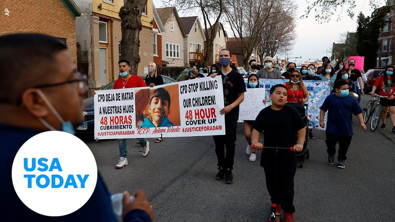 Police shooting of 13-year-old Adam Toledo addressed by his family   USA TODAY